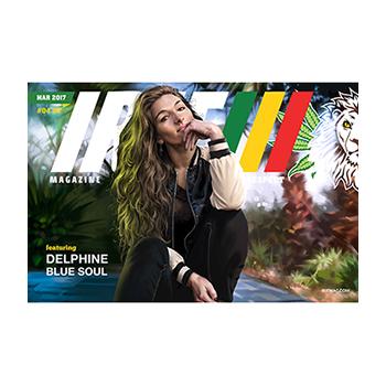 Delphine's IRIE Magazine Poster